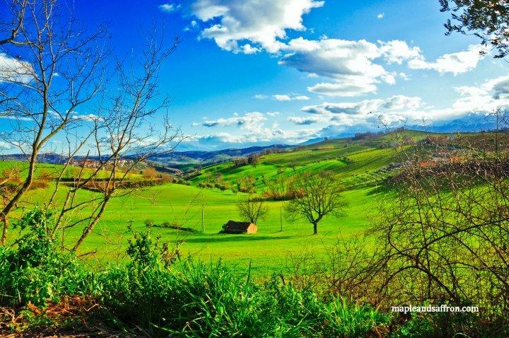 Abruzzo hills