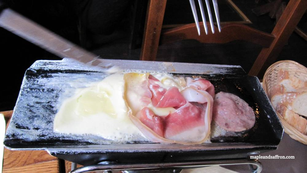 raclette in Paris