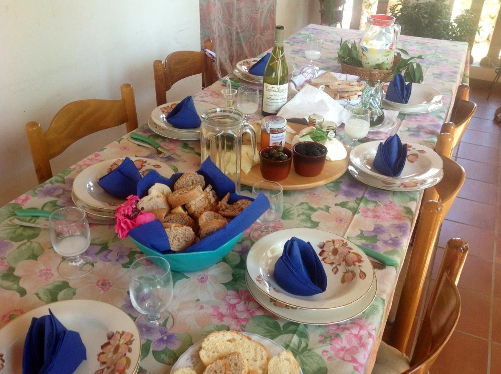 Italian lunch in Abruzzo Maple&Saffron
