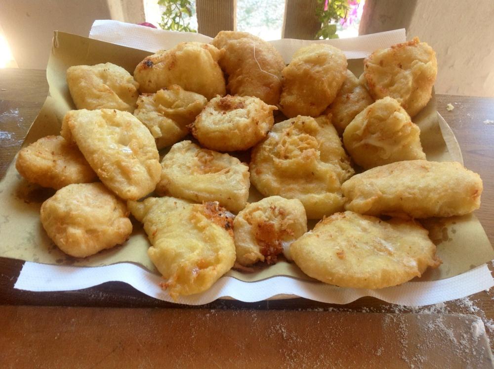 Cacio fritto deep fried cheese Maple&Saffron Abruzzo