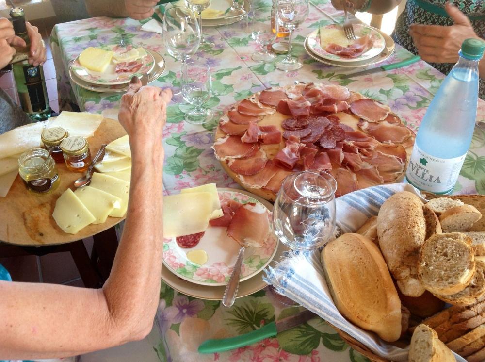 Typical Italian antipasto cured meat Abruzzo Maple&Saffron