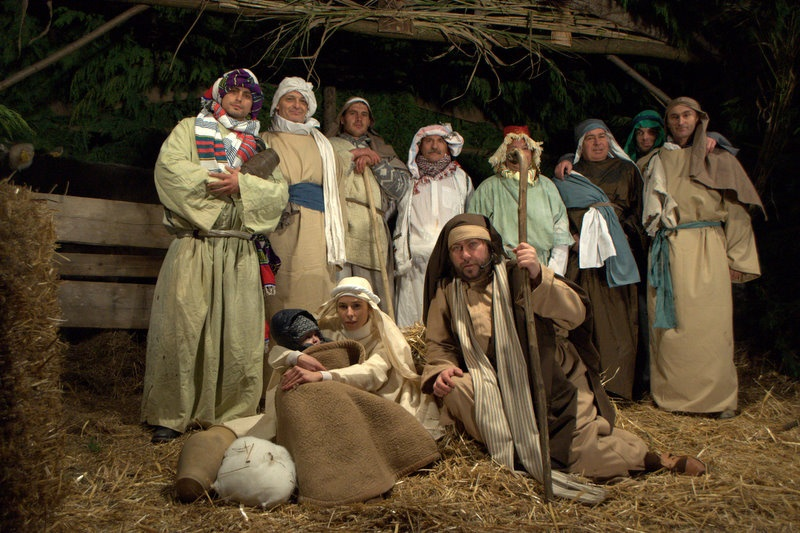 Living Nativity scene in Abruzzo