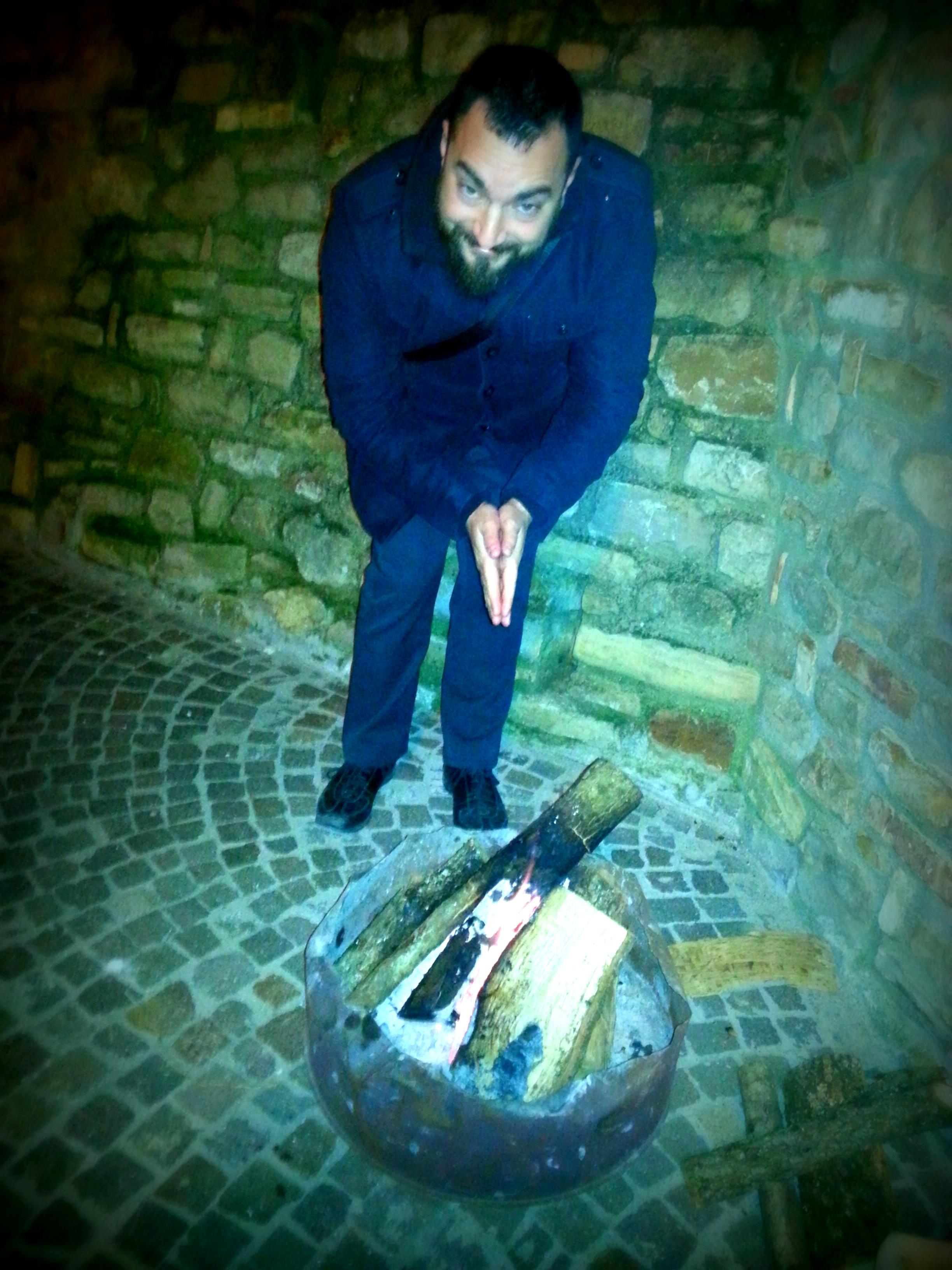 Saffron getting warm around the streets of Cermignano