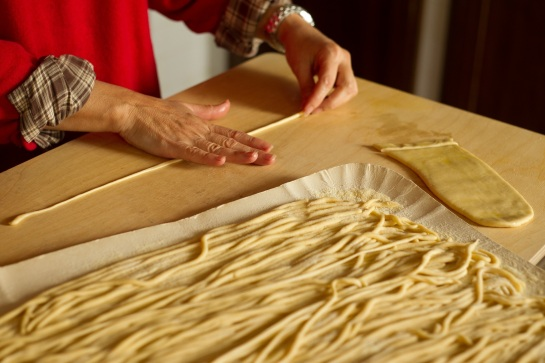 Pici pasta - photo from the web