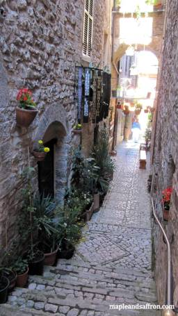 Spello - lovely streets