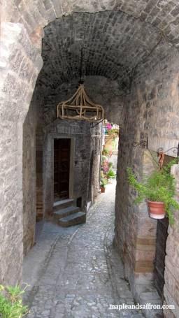 Spello - town street