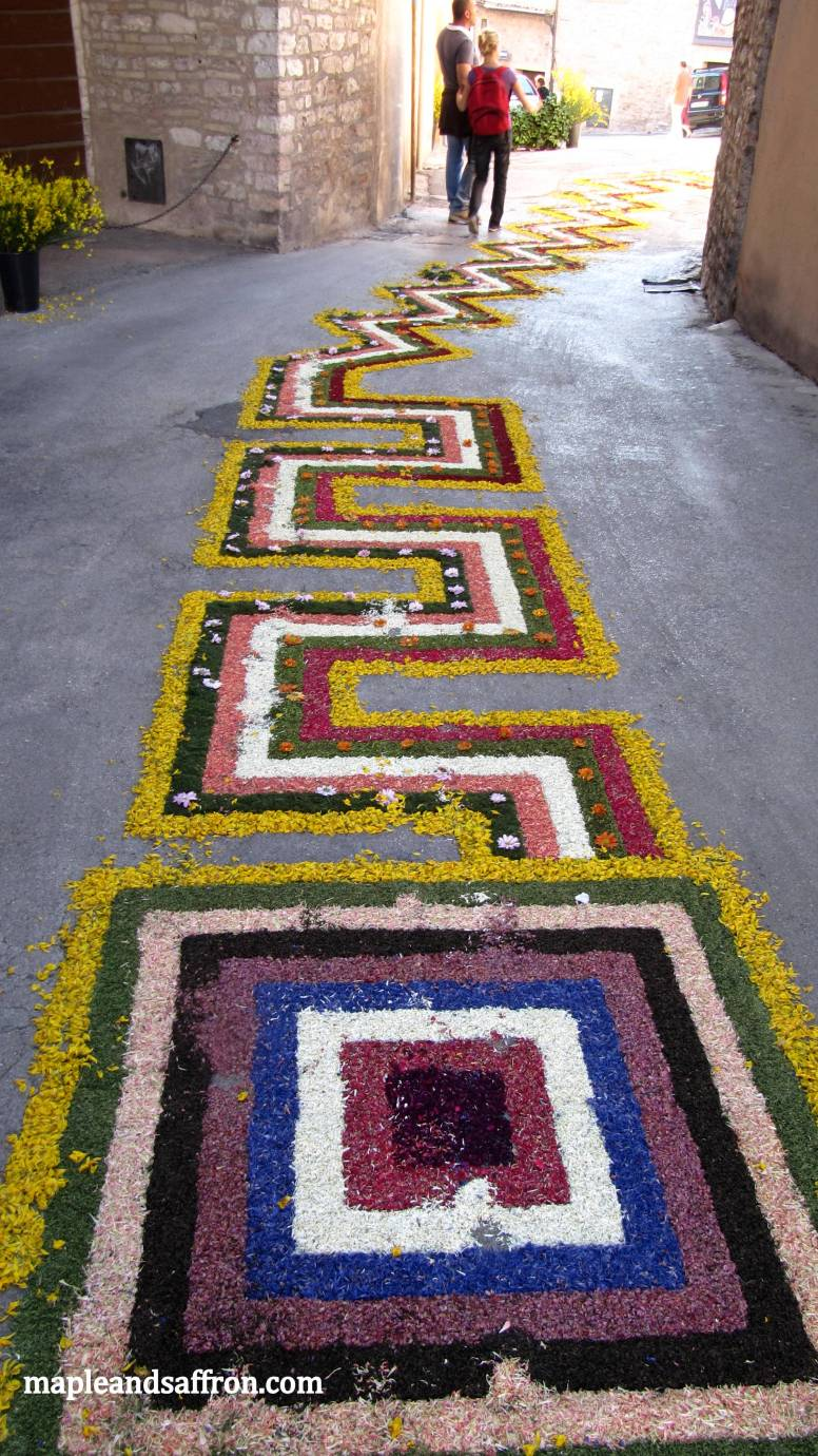 infiorata - geometrical designs