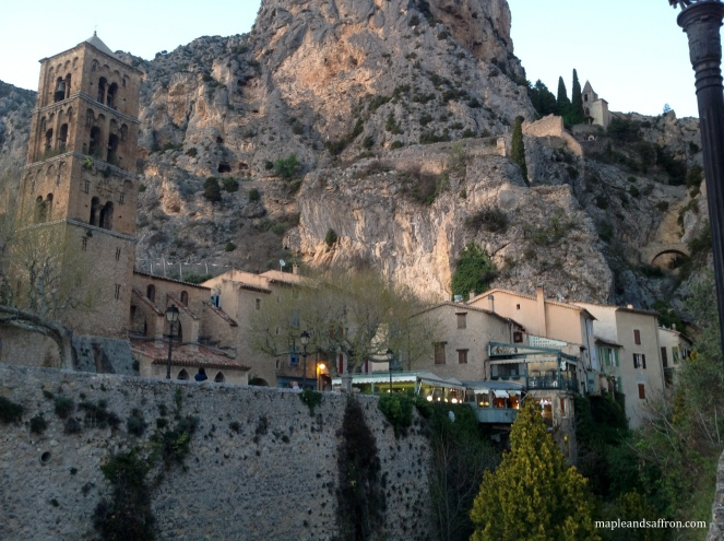 Moustiers - view of the town