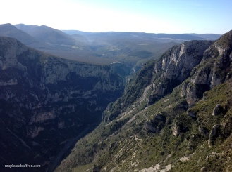 Verdon - stunning view