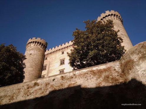 Bracciano Castle from outside